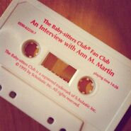 Ann M Martin interview on tape from fan club circa 1995