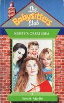 Baby-sitters Club 1 Kristys Great Idea UK cover