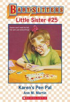 Baby-sitters Little Sister 25 Karens Pen Pal ebook cover