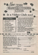 TV series Video Club bookad from SM2 1stpr 1995