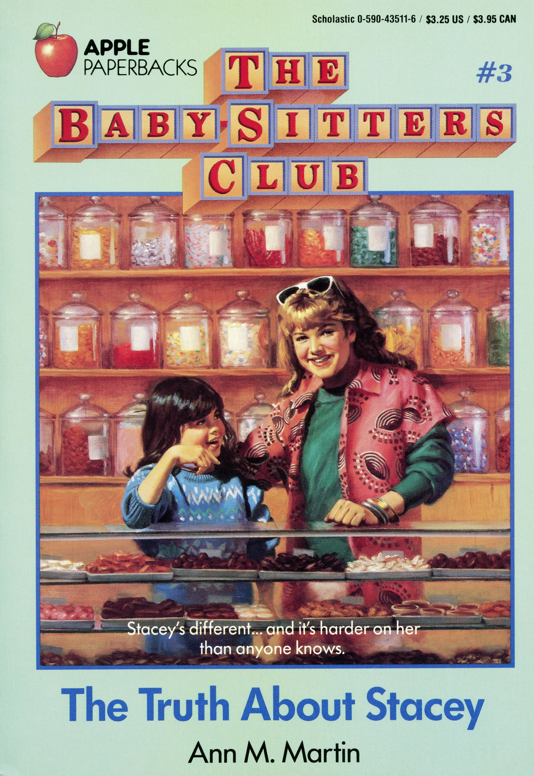The Truth About Stacey The Baby Sitters Club Wiki Fandom