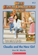 BSC 12 Claudia and New Girl ebook cover