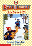 Baby-sitters Little Sister 103 Karens Movie Star cover