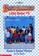 Baby-sitters Little Sister 5 Karens School Picture cover