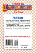 Baby-sitters Little Sister 27 Karens Big Joke back cover