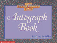 BSC Autograph Book front cover