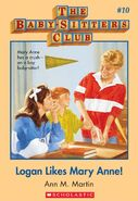Baby-Sitters Club 10 Logan Likes Mary Anne cover