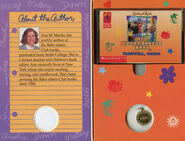 Baby-sitters Club 88 Farewell Dawn audio tape case inside