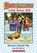 Baby-sitters Little Sister 24 Karens School Trip ebook cover
