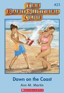 Baby-Sitters Club 23 Dawn on the Coast cover