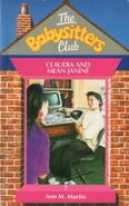 Baby-sitters Club 7 Claudia and Mean Janine UK cover