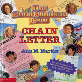 Baby-sitters Club Chain letter front cover