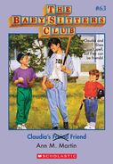 BSC 63 Claudia's Freind Friend ebook cover