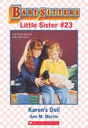 Baby-sitters Little Sister 23 Karens Doll ebook cover