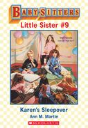 Baby-sitters Little Sister 9 Karens Sleepover ebook cover