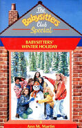 Super Special 3 Baby-sitters Winter Holiday UK cover