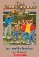Baby-Sitters Club 27 Jessi and the Superbrat cover