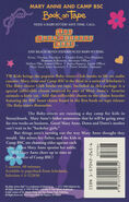 Baby-sitters Club 86 Mary Anne and Camp BSC audio tape back