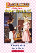 Baby-sitters Little Sister SS1 Karens Wish ebook cover