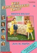 BSC - Kristy's Big Day 1995 Reissue cover