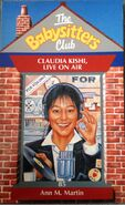 Baby-sitters Club 85 Claudia Kishi Live on Air WSTO UK cover