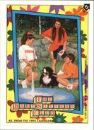 Topps 45 from 1992 calendar