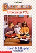 Baby-sitters Little Sister 35 Karens Doll Hospital cover