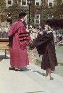 Graduating Smith college 1977