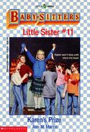 Baby-sitters Little Sister 11 Karens Prize cover