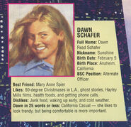 Dawn profile from Sea City poster