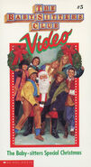 5 Baby-sitters Special Christmas BSC VHS front original
