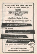 Guide to Baby-sitting bookad from 68 orig 1stpr 1993