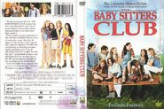 Baby-sitters Club DVD front and back cover