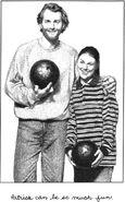 Kristy Thomas and dad Patrick