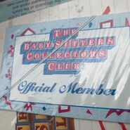 Baby-sitters Collectors Club membership card