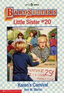 Baby-sitters Little Sister 20 Karens Carnival cover