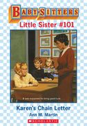 Baby-sitters Little Sister 101 Karens Chain Letter ebook cover