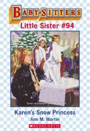 Baby-sitters Little Sister 94 Karens Snow Princess ebook cover