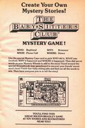 BSC Mystery Game bookad from 71 orig 1994