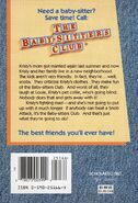 Baby-sitters Club 11 Kristy and the Snobs reprint back cover