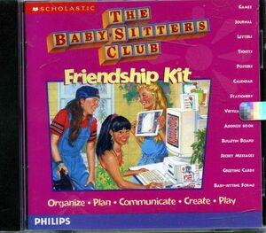 Baby-sitters Club Friendship Kit CD front cover