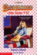 Baby-sitters Little Sister 12 Karens Ghost cover