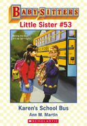 Baby-sitters Little Sister 53 Karens School Bus ebook cover