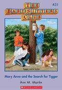 BSC 25 Mary Anne Search for Tigger ebook cover