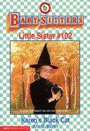 Baby-sitters Little Sister 102 Karens Black Cat cover