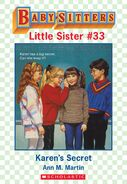 Baby-sitters Little Sister 33 Karens Secret ebook cover