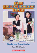 BSC 78 Claudia and Crazy Peaches ebook cover