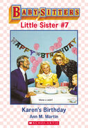 Baby-sitters Little Sister 7 Karens Birthday ebook cover