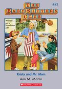 BSC 81 Kristy and Mr. Mom ebook cover