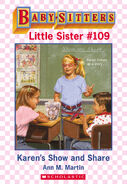Baby-sitters Little Sister 109 Karens Show and Share ebook cover
